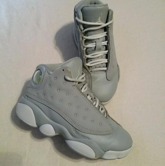 save off ab86f cf253 Kids boys grey Jordan 23 sneakers size 10.5C